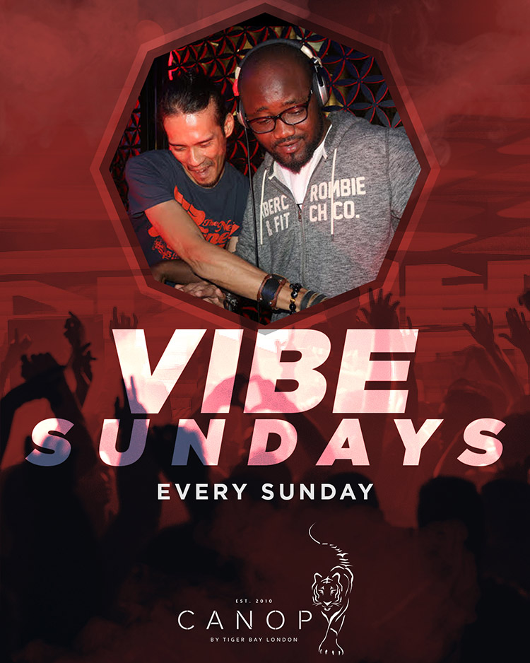Vibe Sundays – Live DJ Every Sunday