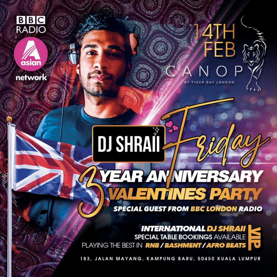 Valentines Day to Remember! With DJ SHRAII