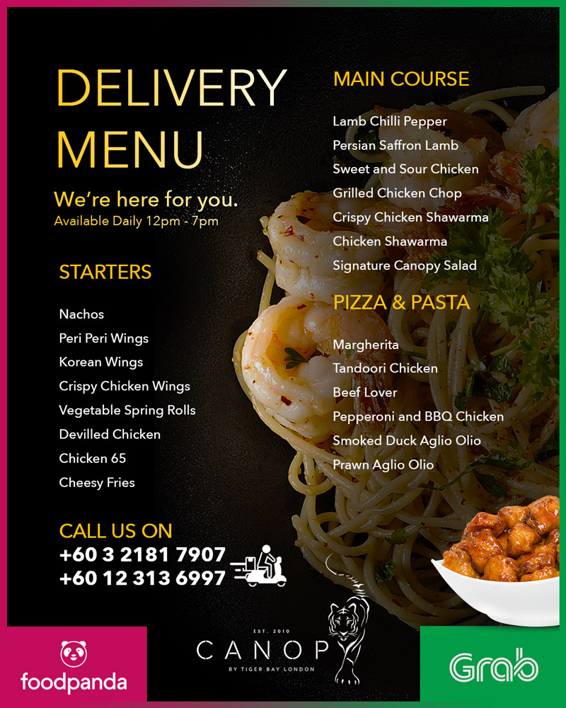 OPEN For home delivery